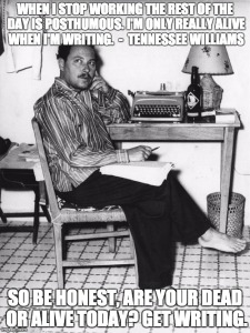 Tennessee Williams dead